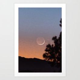 La Lune | Nature and Landscape Photography Art Print