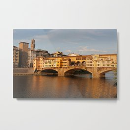 Ponte Vecchio Florence Metal Print