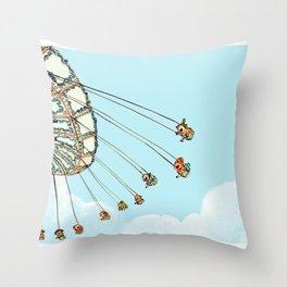 La Fete Foraine Throw Pillow