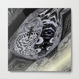 Random 3D No. 1662 Metal Print