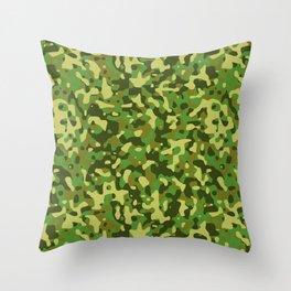 Flecktarn Jungle Camo Throw Pillow