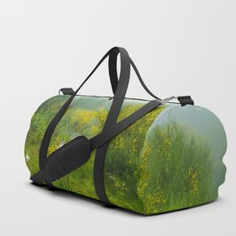 Green forest after raining Duffle Bag