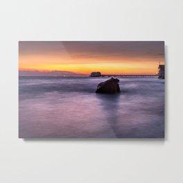 Swansea Bay Sunrise Metal Print