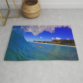 Surf Photography:Add water Rug