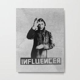 Rasputin - the real influencer Metal Print