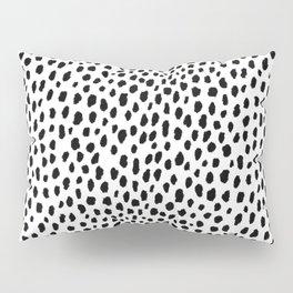 Dalmatian Spots (black/white) Kissenbezug