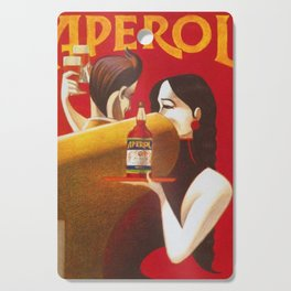 Aperol Alcohol Aperitif Spritz Vintage Advertising Poster Cutting Board