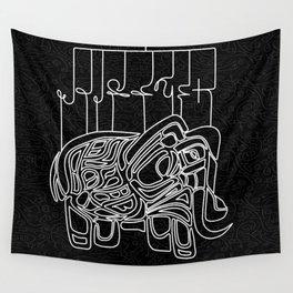 Elephant V4FS Wall Tapestry