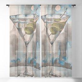 Martini Sheer Curtain