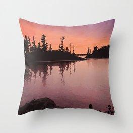 Georgian Bay Islands National Park Throw Pillow