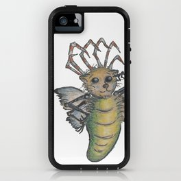 They're All Weird, says the Mockmoth iPhone Case