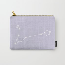 Pisces Zodiac Constellation - Lavender Carry-All Pouch