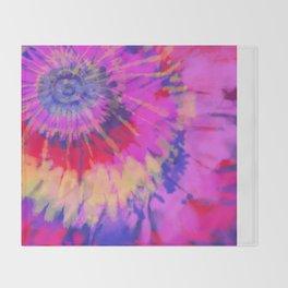 Purple Flare Throw Blanket