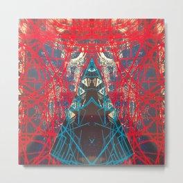 FX#505 - Kryptonian Oblongated Lines Metal Print