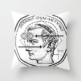 Collective unconscious - Dominus Incitatus Throw Pillow