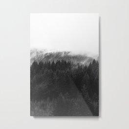 PNW Forest Mountain Mania Metal Print