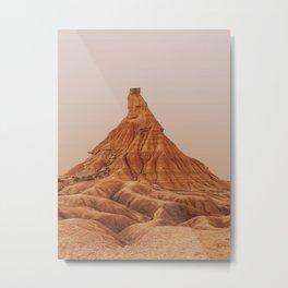 Bardenas Reales Metal Print