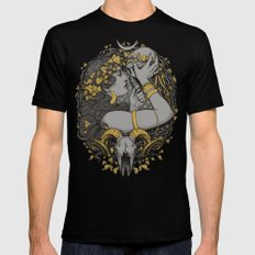 The WITCH Black LARGE Mens Fitted Tee