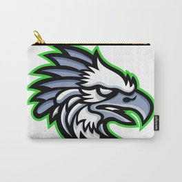 American Harpy Eagle Mascot Carry-All Pouch