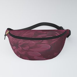 Burgundy Chrysanthemums Fanny Pack
