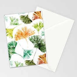 Ginkgo Leaves Stationery Cards