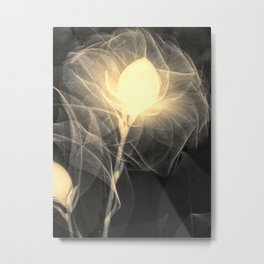 X-Ray of a flower Metal Print