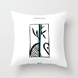 Grounding Throw Pillow
