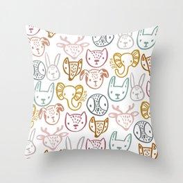 My Friends Throw Pillow