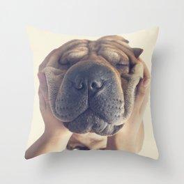 Beautiful Shar pei  Throw Pillow