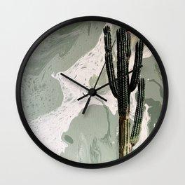 Cactus Jill Wall Clock