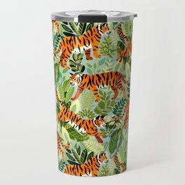 Bright Bengal Tiger Jungle Travel Mug