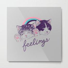 Feelings Metal Print