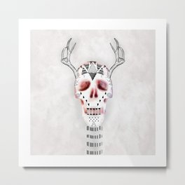 Lord of the Antlers Metal Print