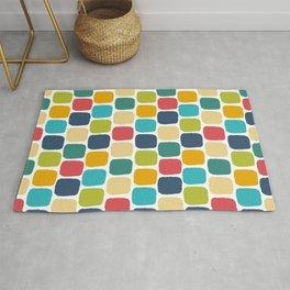 Muiti-Colored Squares Rug