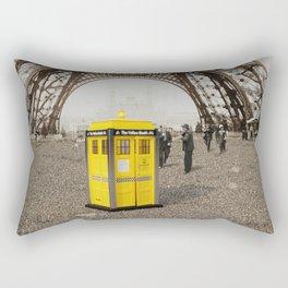 The Yellow Booth at Eiffel Tour! Rectangular Pillow