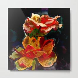 Romantic Flowers Metal Print
