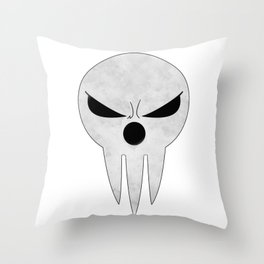 soul eater- lord death angry Throw Pillow