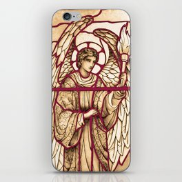Angel Torch Carrier iPhone Skin