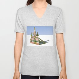 Russia Is A Marginal Power Unisex V-Neck