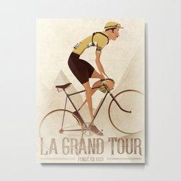 Vintage Racing Road Bike BicycleRoad Cycling Metal Print