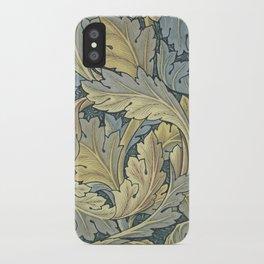 William Morris Acanthus Leaves Floral Art Nouveau iPhone Case