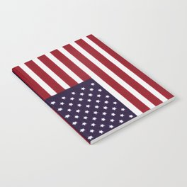 American flag - painterly treatment Notebook