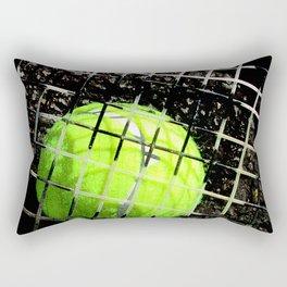 Tennis art print work 17 Rectangular Pillow