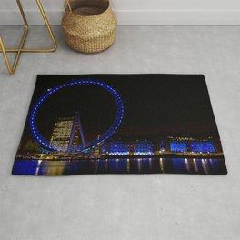 London Eye and The Southbank Rug