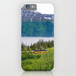 Alaska Passenger Train - Bird Point iPhone Case