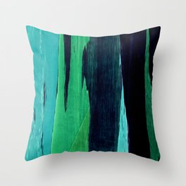 Color Story II Throw Pillow