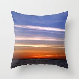 Sharm Sunrise 5 Throw Pillow