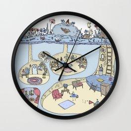 El reino de los pájaros Wall Clock
