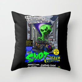 The Snot That Ate Port Harry poster Throw Pillow