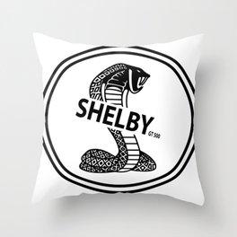 shelby GT500 design Throw Pillow